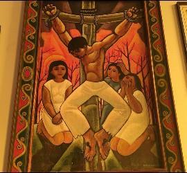 EL Cristo mártir de Cerezo