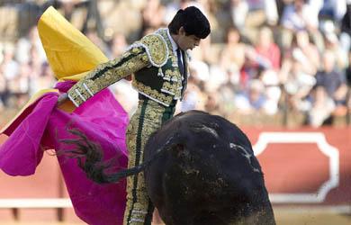 Miguel Ángel Perera indulta un toro de Victoriano del Rio en Dax