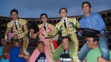 El Juli, Perera, Gallo y el mayoral de Garcia Jiménez, a hombros