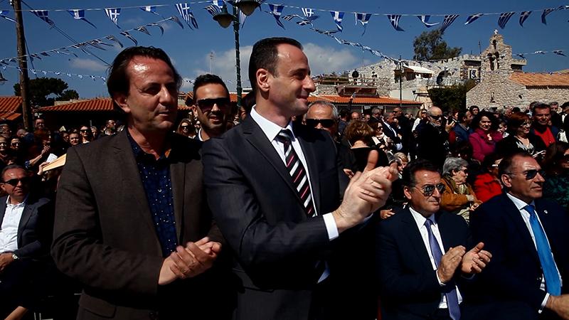 Το Περιστέρι στον εορτασμό κήρυξης της Επανάστασης στην Αρεόπολη Λακωνίας.00_03_18_07.Still004
