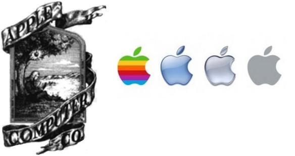 """Historias del logo de """"Apple"""""""