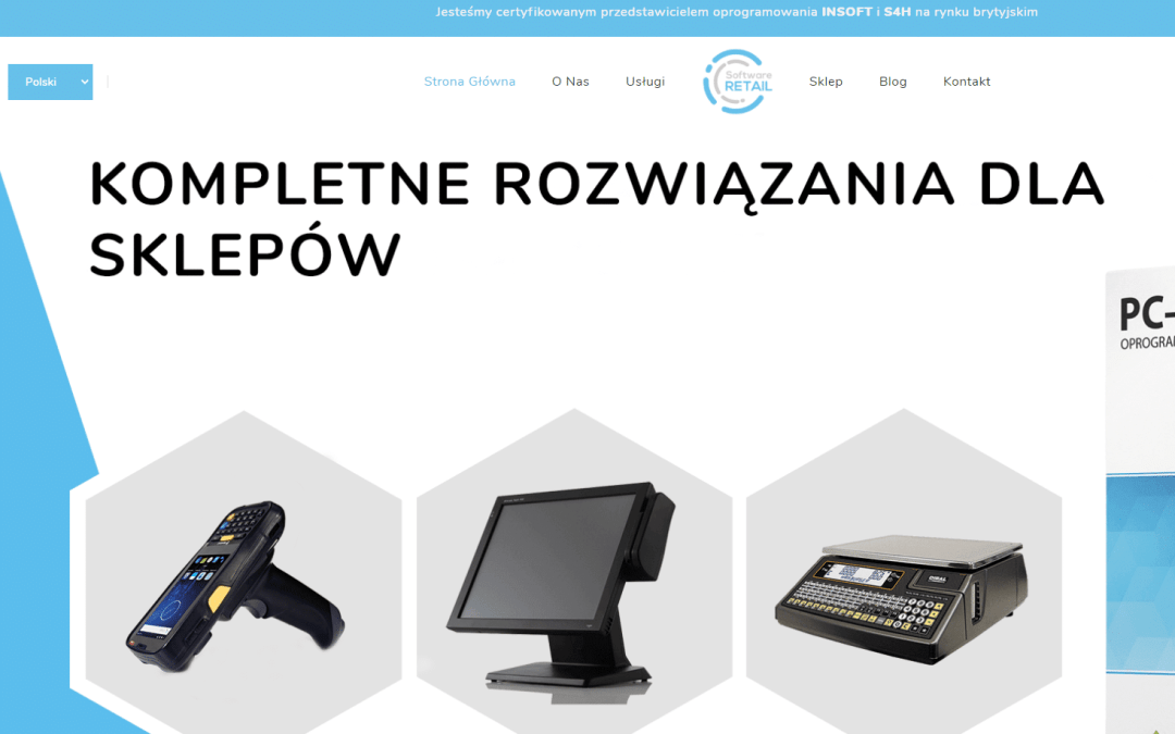 Online store Software Retail LTD realisation and support