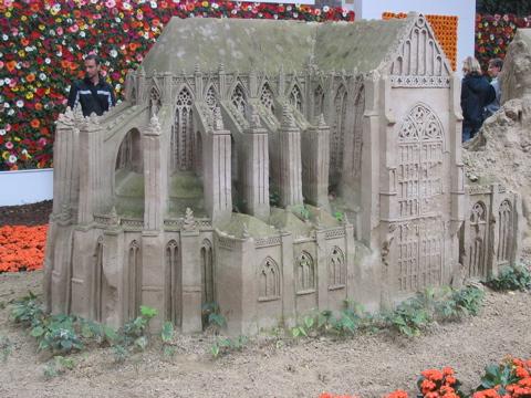 Utrecht Dom in sand