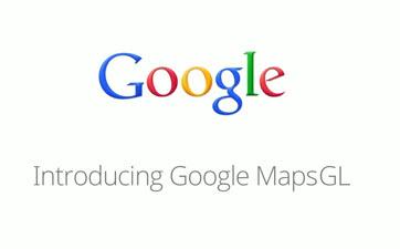 Vector Maps via webGL finally make it to Google maps on the