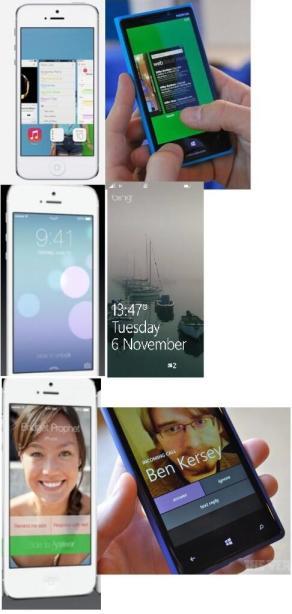 iOS7 and Windows