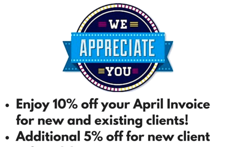 Customer Appreciation Month!
