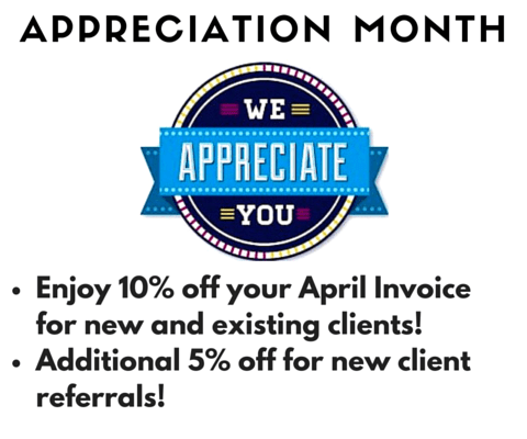 Customer Appreciation Month