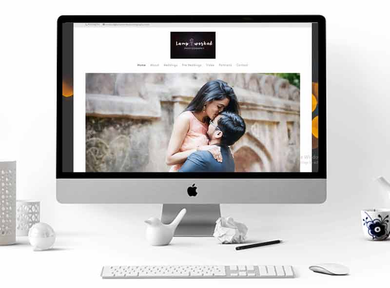 Lampworked Photography Website Design