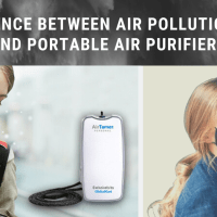 Difference between air pollution mask and portable air purifiers?