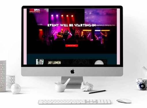 180bpm Event Website