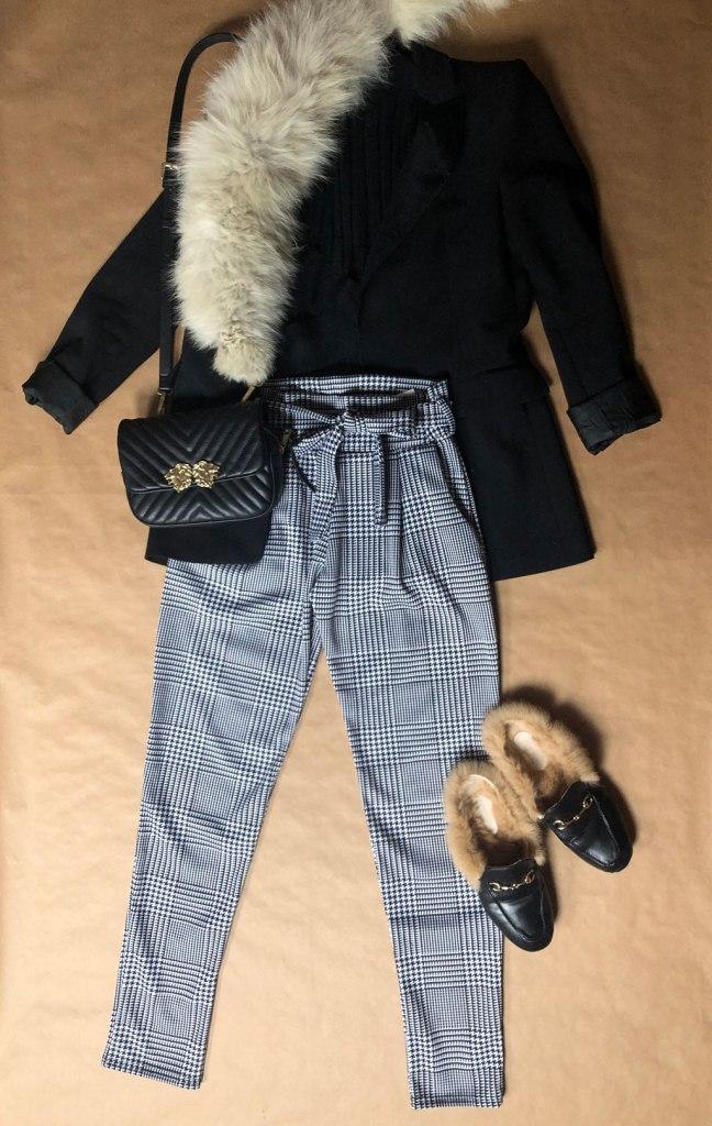 Pantalón pata de Gallo Femme Luxe