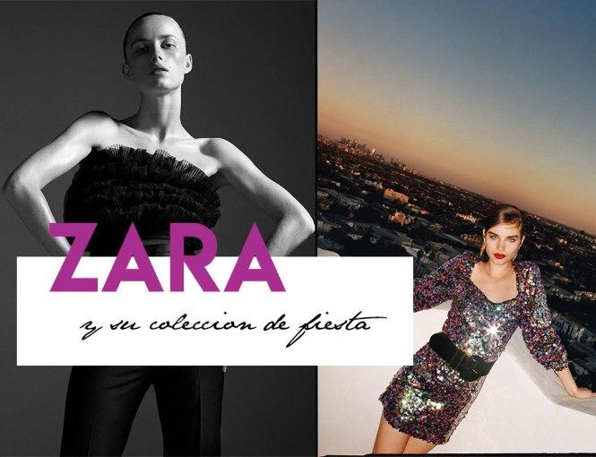 Zara y su colección de fiesta