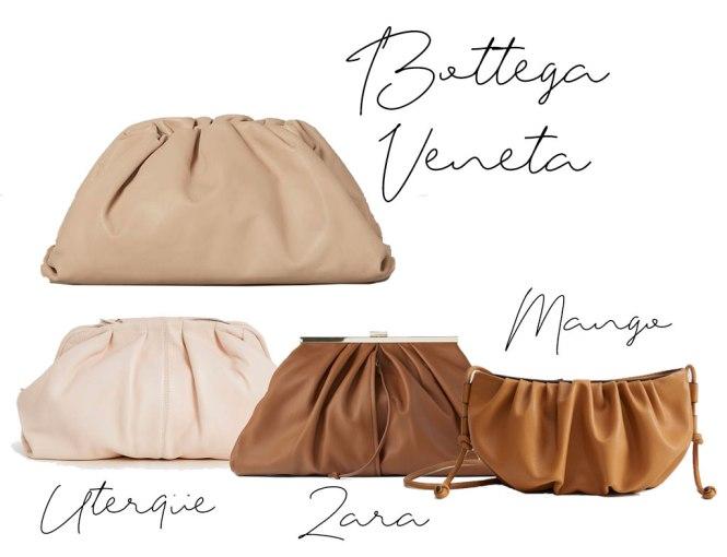 Bolso  The Pouch de Bottega Veneta y sus clones