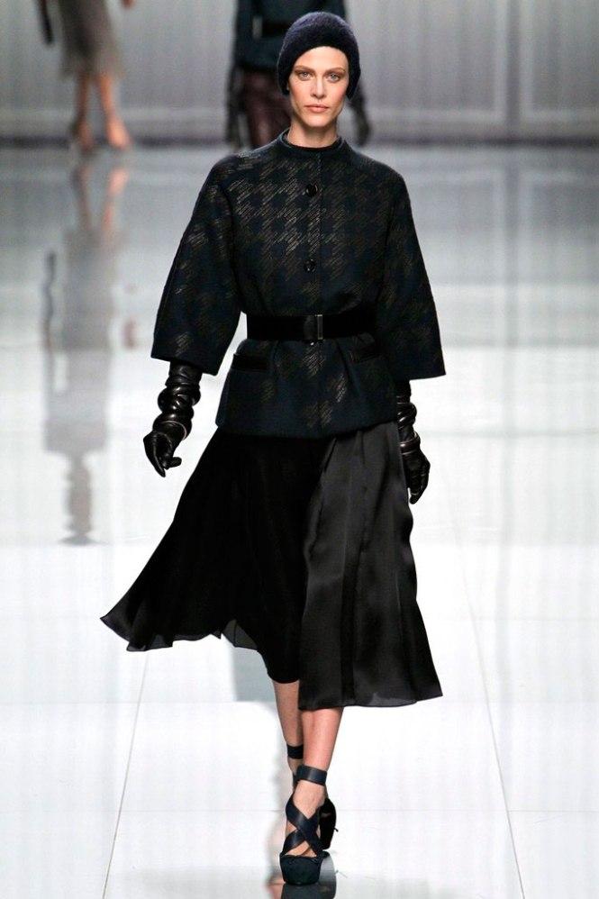 Desfile Dior otoño/invierno 2012 por Raf Simons