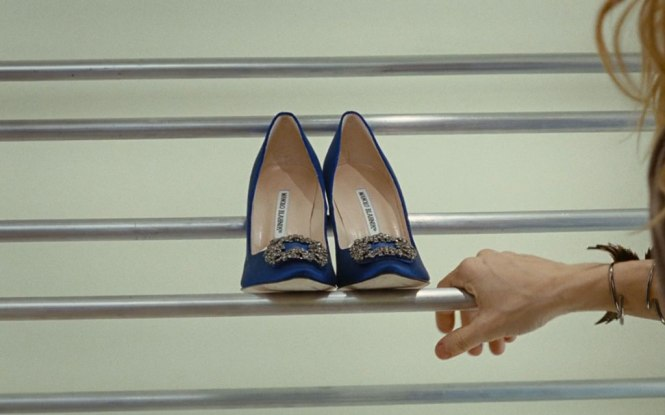 Zapatos famosos de novia Hangisi de Manolo Blahnik