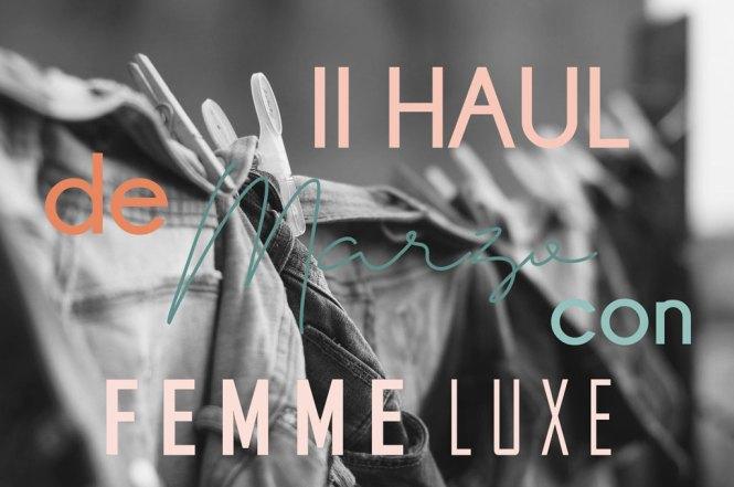 II Haul de Femme Luxe
