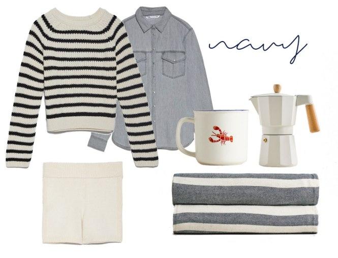 Home wear estilo navy