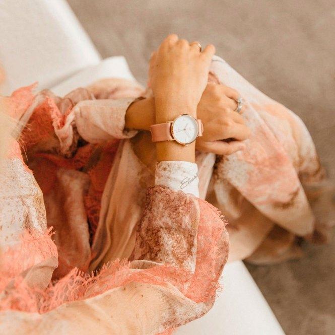 Reloj Button Watch rosa