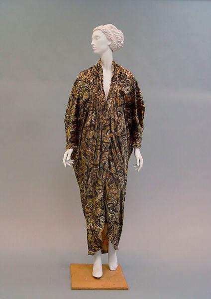 Vestido Quimono 1913-1919 Paul Poiret