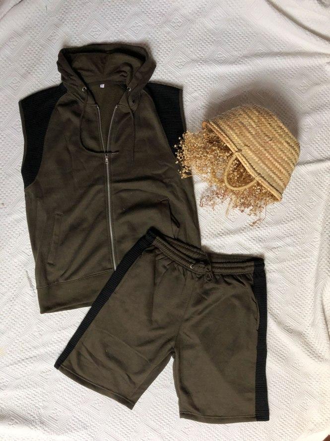 Loungewear de chaleco y pantalón