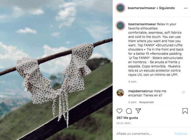 Marcas de baño colombianas: Boamar Swimwear