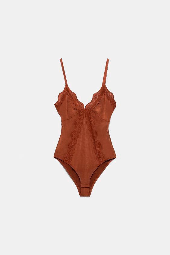 Body lencero Zara