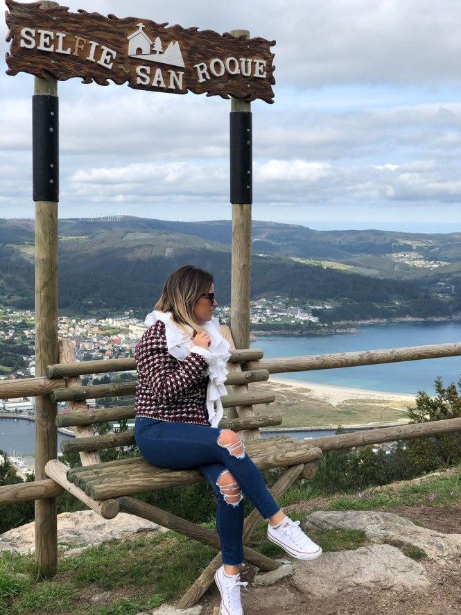 Selfie en San Roque - Turisgalicia