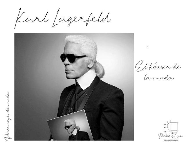 Karl Lagerfeld el Káiser de la moda.