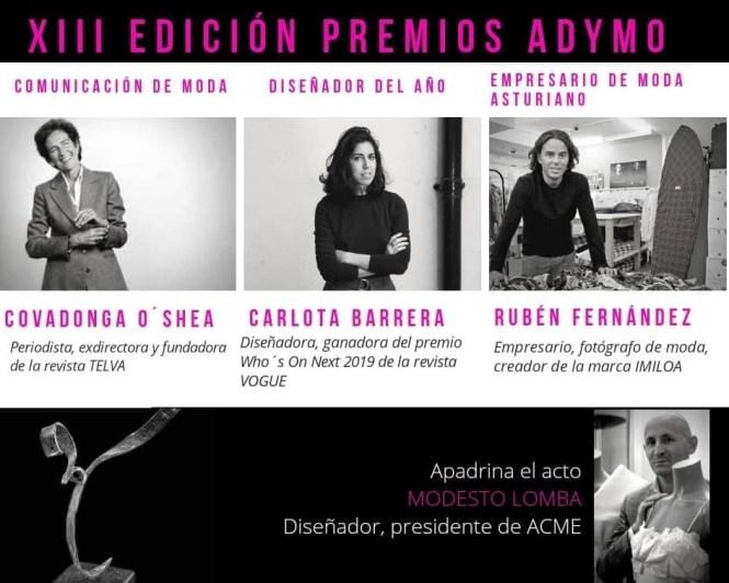 Premios de la MODA ADYMO