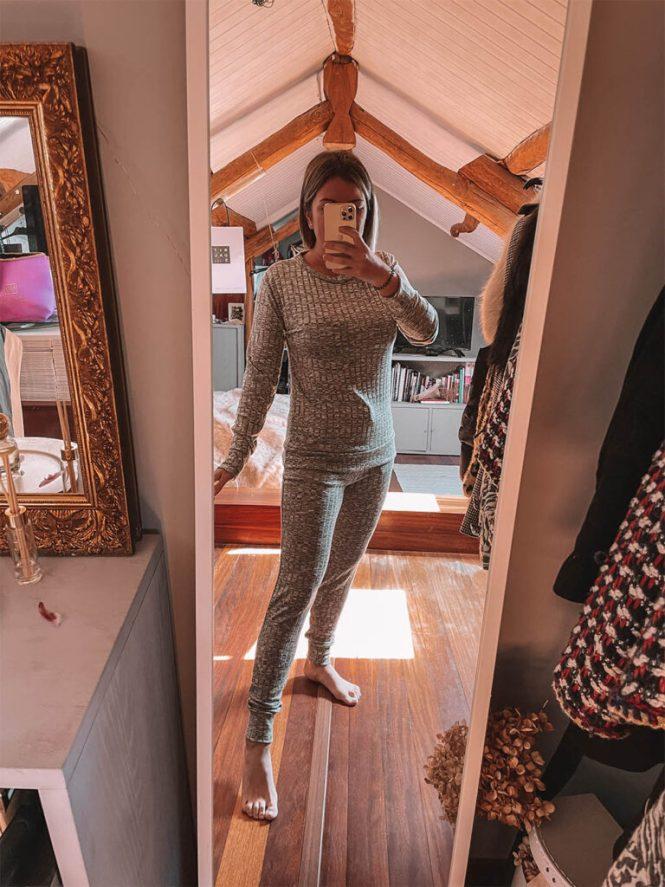 Loungewear  de canalé Femme Luxe