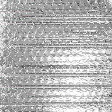 tissu isolant thermique bulle isotherme argente x10cm