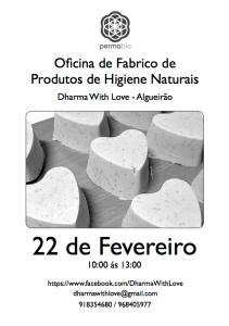 Oficina de Produtos de Higiene Naturais - Dharma With Love