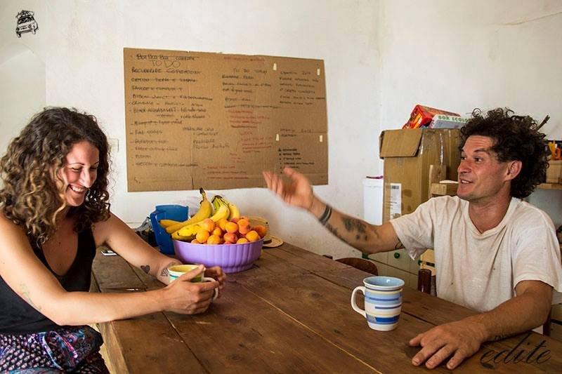 Daniele e la Gioia ...di vivere la permacultura in Sicilia!