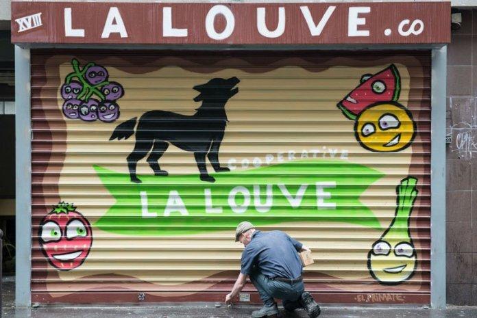 la louve cooperativa parigi