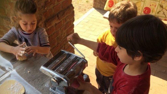 educare in natura permacultura bambini