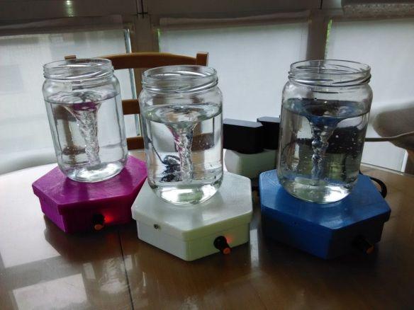Estructuradores de agua DIY