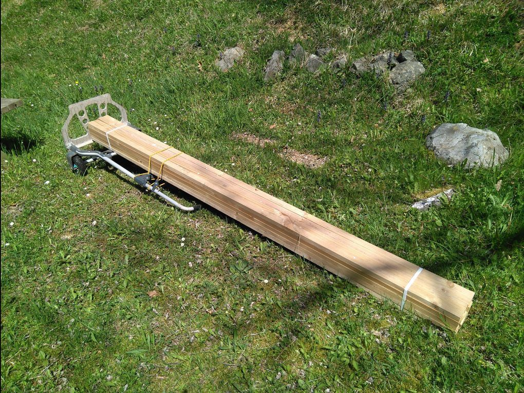 Acarreando madera