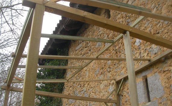 Estructura tejado