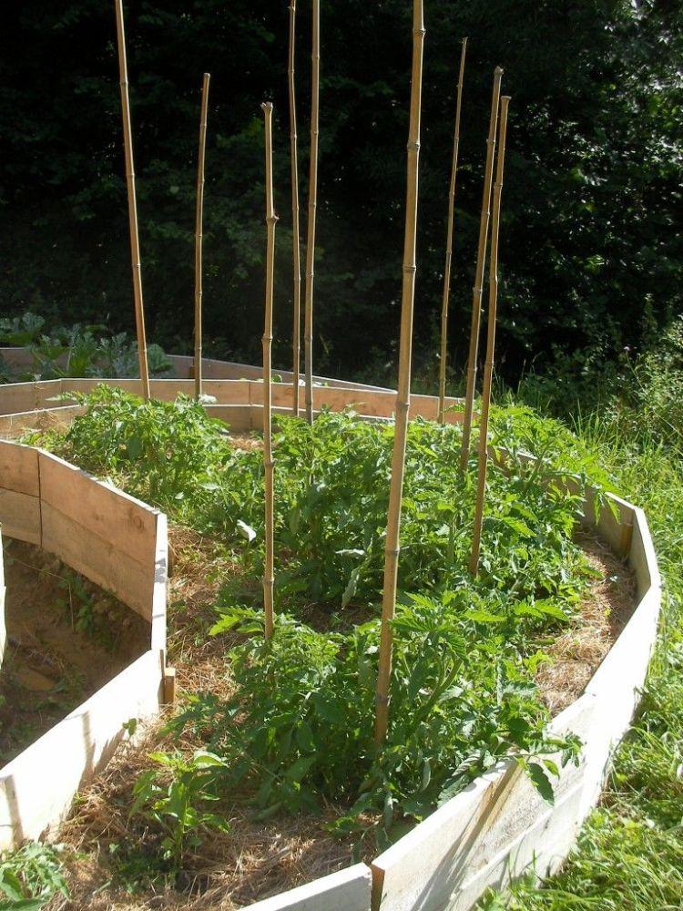 Jardin Lauburu terminado ... Lauburu garden finished (5/6)