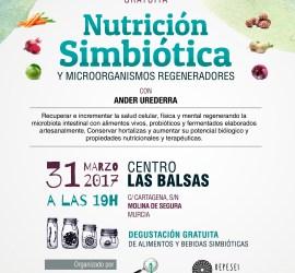 Cartel Conferencia Nutrición Simbiótica