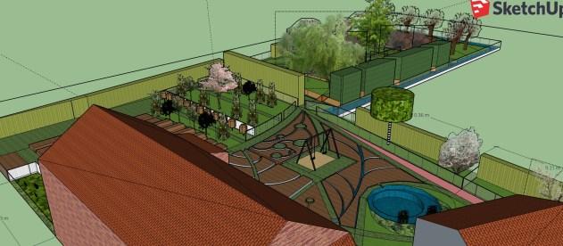 plan 3d potager en permaculture