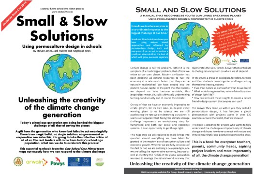 Small and Slow solutions, a handbook on how to tackle climate change through the classroom and the community and make real changes