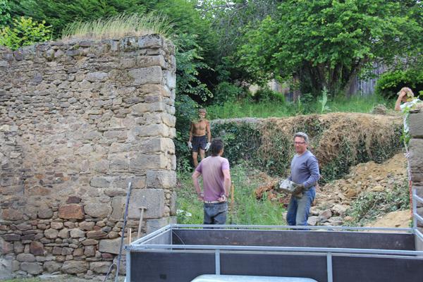loading stone