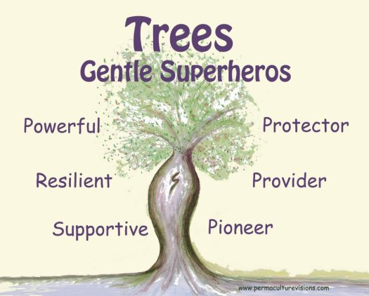 trees gentle superheros