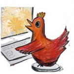 chook-on-computer