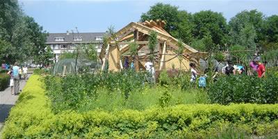 Foto van het eerste jaar van Eetbaar Park
