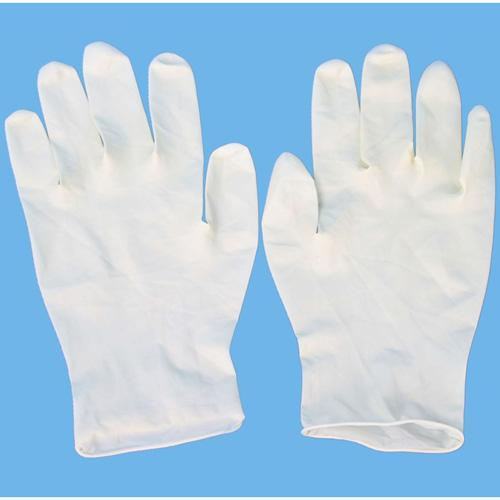 Confortable Disposable Hygienic Products , Medical Grade Natural Rubber Latex Gloves