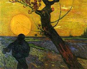 Van Gogh Le Semeur 1888