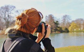 Person taking photo