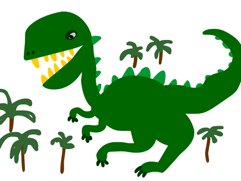 Dino T-Rex drawing